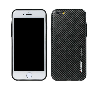 Coque Housse Etui Remax ultra mince style Gentleman Luxe Carbone Pour iPhone 7