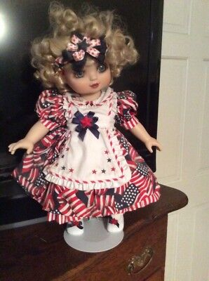 """Marie Osmond's """"Adora Belle of Freedom"""" Patriotic Collection"""
