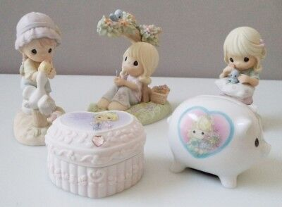 Precious Moments (with boxes) - lot of 5