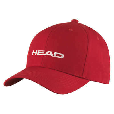 HEAD Promotion Cap Kappe - rot - NEU