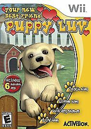 Puppy Luv Your New Best Friend for Wii