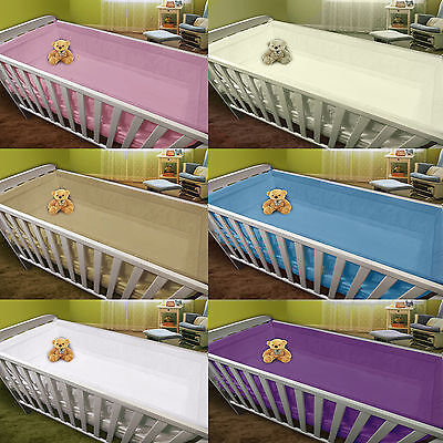 All Round Soft Large Long Padded Bumper To Fit Cot /Cot Bed