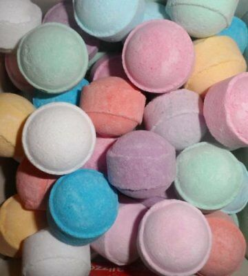 Assorted Chill Pill / Mini Marble Bath Bombs - Wedding Favour, gifts 20 30 48 50