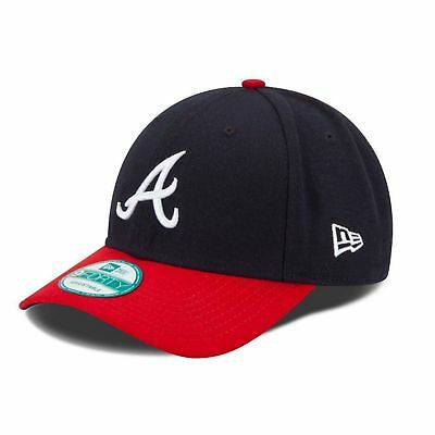 NEW ERA NEW Mens Blue New Era MLB 9Forty Atlanta Braves Cap - Navy BNWT