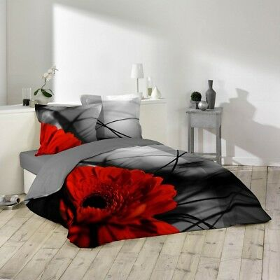 Housse de couette - 220 x 240 cm + taies - Milly