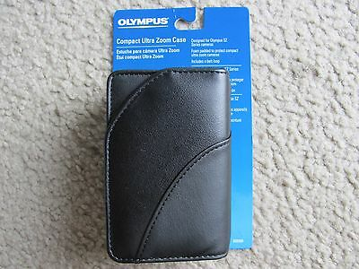 Genuine Olympus Compact Ultra Zoom Camera Case Black 202505 for SZ Series Camera
