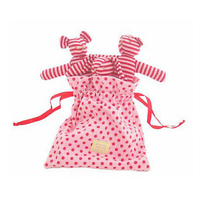 Alimrose Designs Baby Rattles Pouch of Animal Rattles in Pink and Red