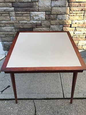 Vintage Stakmore Folding Wood Card Table.  Excellent condition.  Pre-owned.