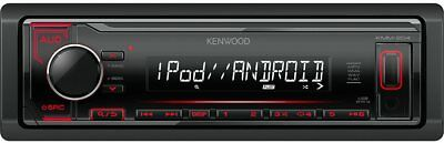 Kenwood Autoradio Android 1 DIN Mp3 USB Stereo Auto Ingresso AUX Nero KMM-204