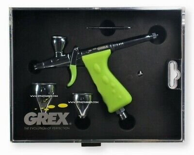 Grex Tritium.TG3 Double Action Pistol Style Trigger Top Gravity Airbrush, 0.3mm