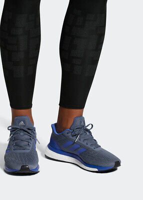 new style 54d77 531d6 Adidas Chaussures de course Sneakers Running Shoes response boost gris bleu
