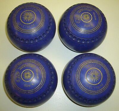 Thomas Taylor Lawn Bowls Set of 4 Size 4