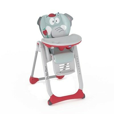 Trona Polly 2 Start Baby Elephant - Colores - Gris