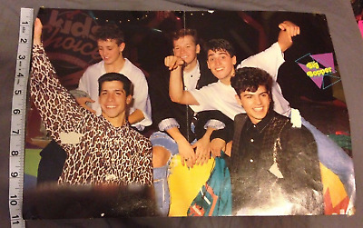 Fred Savage Tom Cruise Poster Pin up New Kids On The Block 10x15 NKOTB