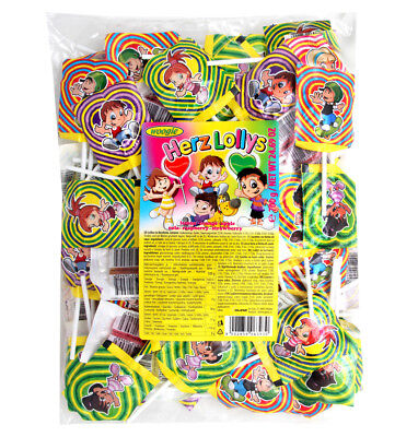 Woogie Herzlolly´s 700g Lutscher Lolly Lollies Lollipops