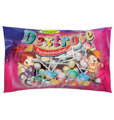 Woogie Dextrose Lollipops 400g Traubenzucker Lutscher, Lollies,