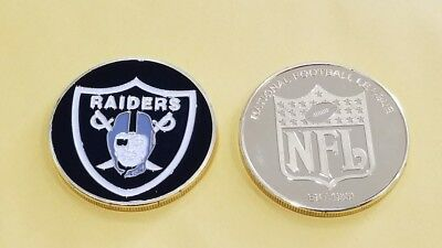 Oakland Raiders Challenge Coin