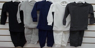 Infant/Toddler/Boys Snozu $18 Assorted Thermal Underwear/Pajamas Sz 12 Months-7
