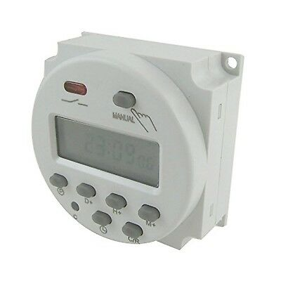 Hrph Digital LCD Power Programmierbarer Timer Time Switch AC 220V