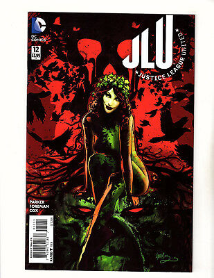 Justice League United #12 (2015, DC) FN/VF Poison Ivy Cover