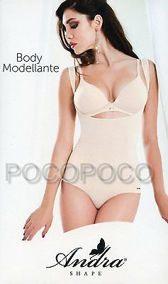 Body Modeling Wide Shoulder Woman With Reinforcements Effect Push Up Andra Art.