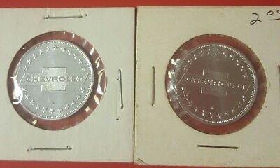 Chevrolet Advertising Automobilia Vintage Collectible One Chevy Coin