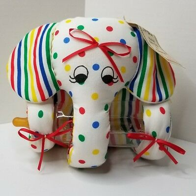 Musical Baby Gift Elephant Bottle Holder Nwt Baby Shower New Baby Brahms Lullaby