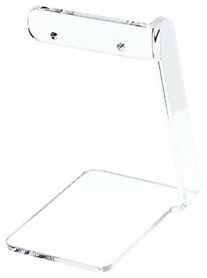 Plymor Brand Clear Acrylic Signpost-style Pair Hanging Earring Display Stand, 2.