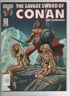Savage Sword of Conan The Barbarian #100 - May 1984 - Marvel Magazine Group.