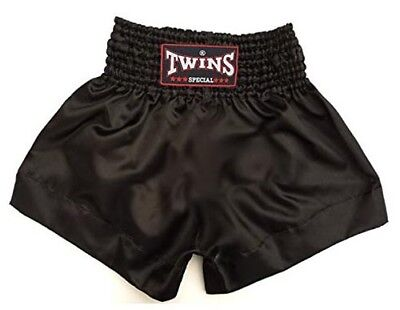 Twins Special Muay Thai Boxing Shorts Black