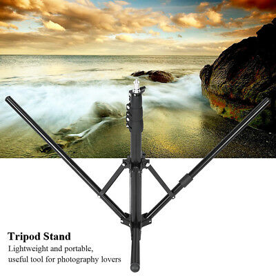 Folding Lightweight Portable Travel Studio Flash Tripod Stand for DSLR Cameras