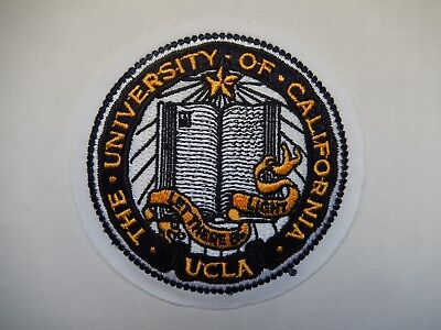 The University Of California UCLA Let There Be Light Embroidered Patch New