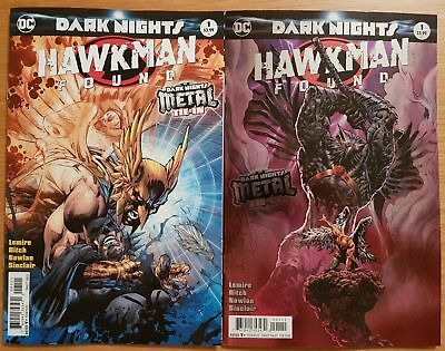 Dc Hawkman Found 1 Regular & Lee Variant Set Nm Or Better Boxed Shipping