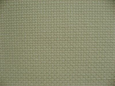 Cream 100% linen 14 count aida embroidery fabric, 50 x 70cm