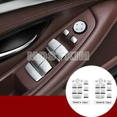 Inner Door Window Switch Button Cover For BMW  5 7 Series F01 F02 F07 F10 F11