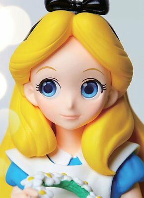 Banpresto Disney Characters Crystalux ALICE in Wonderland Figure from Japan F/S