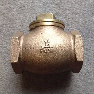 "CHECK VALVE HORIZONTAL LIFT TYPE 11/2"" bsp NONE RETURN VALVE NOT SPIRAX SARCO"