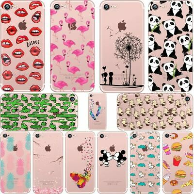 Different Shapes soft silicone cases cover for iPhone 6 6S 7 8 plus  X