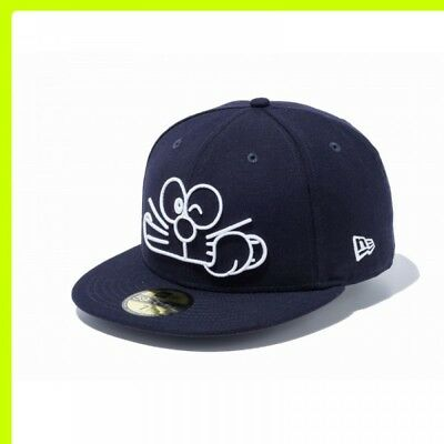NEWERA 59FIFTY Doraemon Face Cap Navy x White New era Limited Color Japan