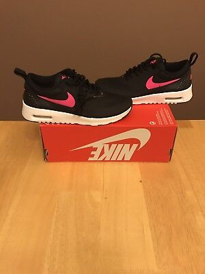 Nike Air Max Thea (GS) Youth Size 7Y Black/Pink $85 (Women's 8.5) Presto