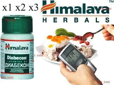 HIMALAYA Herbals Diabecon Helps Reduce & Controls Blood Sugar Level 30 Tablets