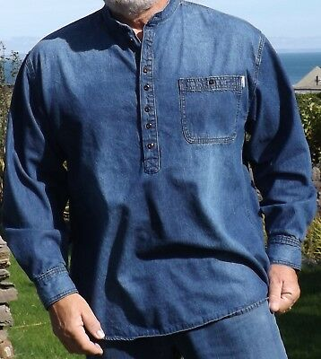 Grandad Shirts in Soft Denim Kaboo Original different by both design and Quality