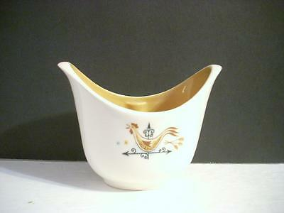 Vintage Taylor Smith Taylor Rooster Weather Vane Sugar Bowl  (A21)