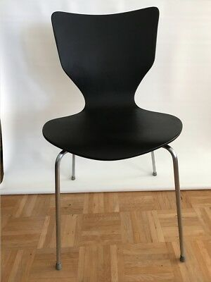 fritz hansen 3107 stuhl chair arne jacobsen citron lemon eur 120 00 picclick de. Black Bedroom Furniture Sets. Home Design Ideas