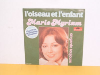 "Single 7"" - Marie Myriam - L'oiseau Et L'enfant - Eurovision Song Contest"