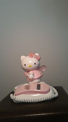 a890dfd34 HELLO KITTY CORDED Caller id Phone Light Up Landline Home Telephone ...