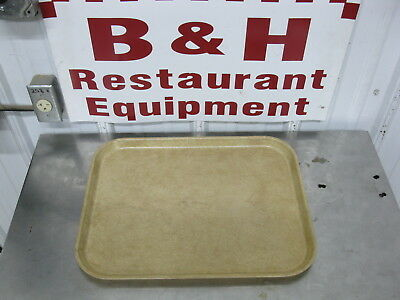 "Cambro Serving Market Tray Fiberglass Tan Bakery Sheet Pan 14"" x 18"""