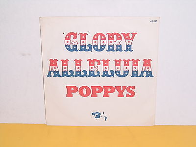 "Single 7"" - Poppys - Glory Alleluia"
