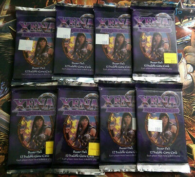 Xena Warrior Princess Booster Pack x8 - TCG CCG Factory Sealed Card Game