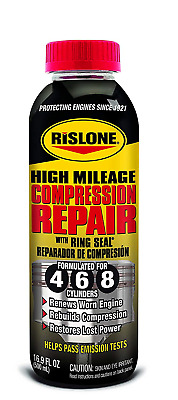 Rislone Engine Compression Piston Seal Cylinder Repair